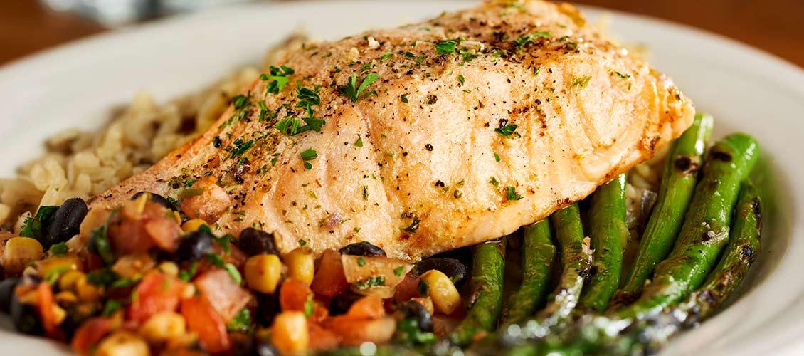 Chanhassen Dinner Theatres menu Salmon