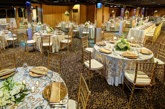 Chanhassen Dinner Theatres weddings and receptions indoor wedding Ballroom 3