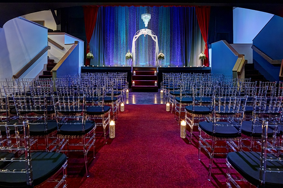 Chanhassen Dinner Theatres weddings and receptions indoor wedding the club theatre 3