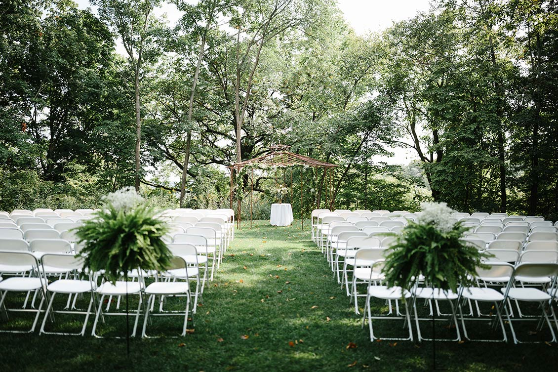 Chanhassen Dinner Theatres weddings and receptions outdoor wedding BluffCreek 2