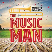 Chanhassen Dinner Theatre logo website The Music Man 200x200