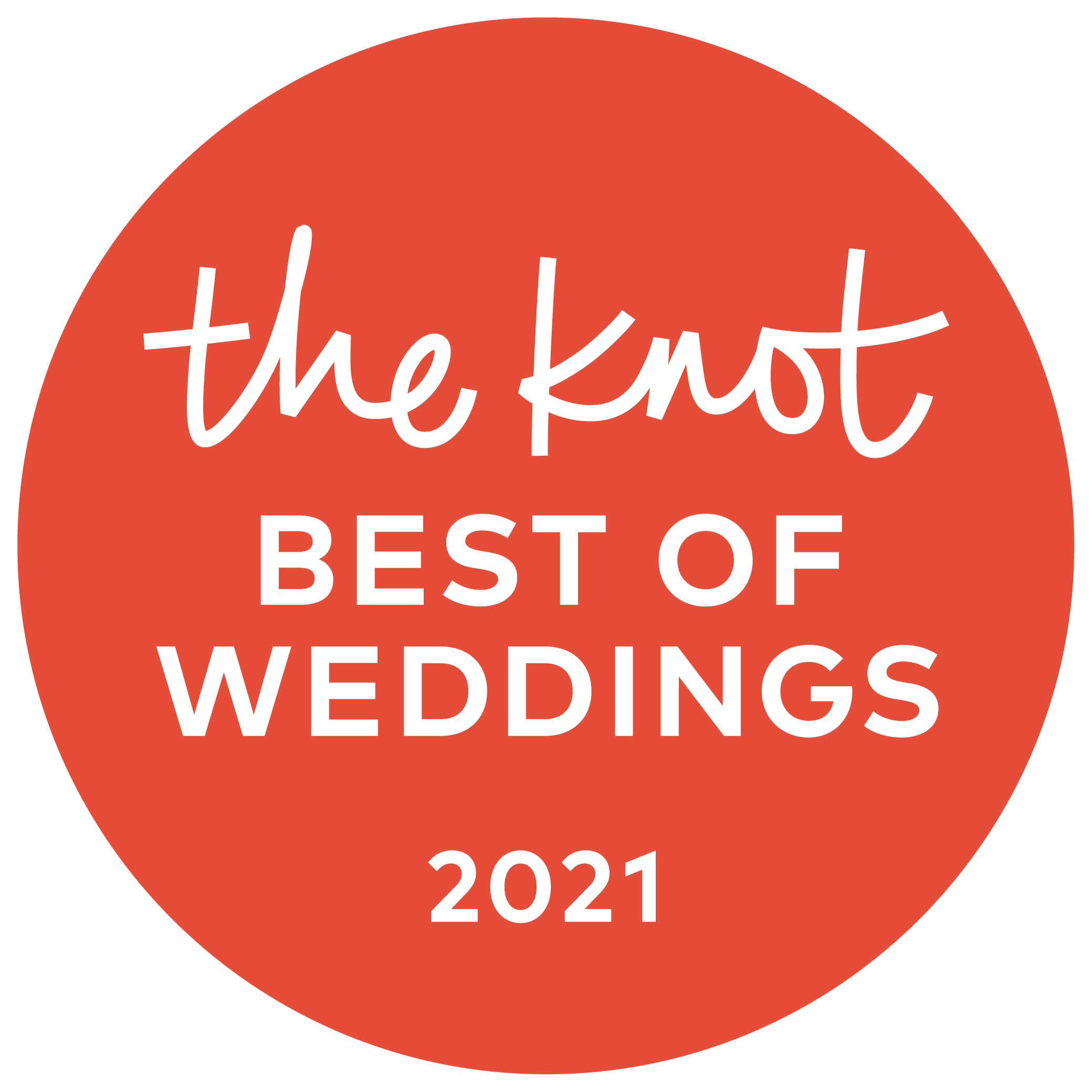 2021 Pick The Knot Best of Weddings